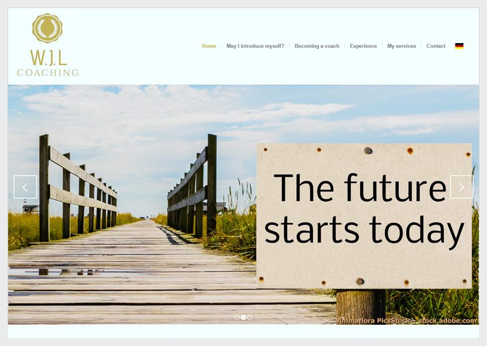 Homepage-Erstellung für W.J.L Coaching, Wido-Jochen Laue, 90513 Zirndorf
