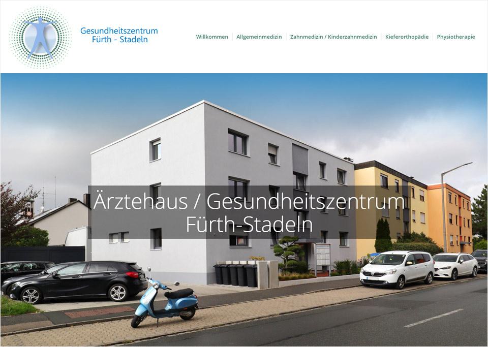Homepage-Erstellung für Gesundheitszentrum Fürth-Stadeln, 90765 Fürth