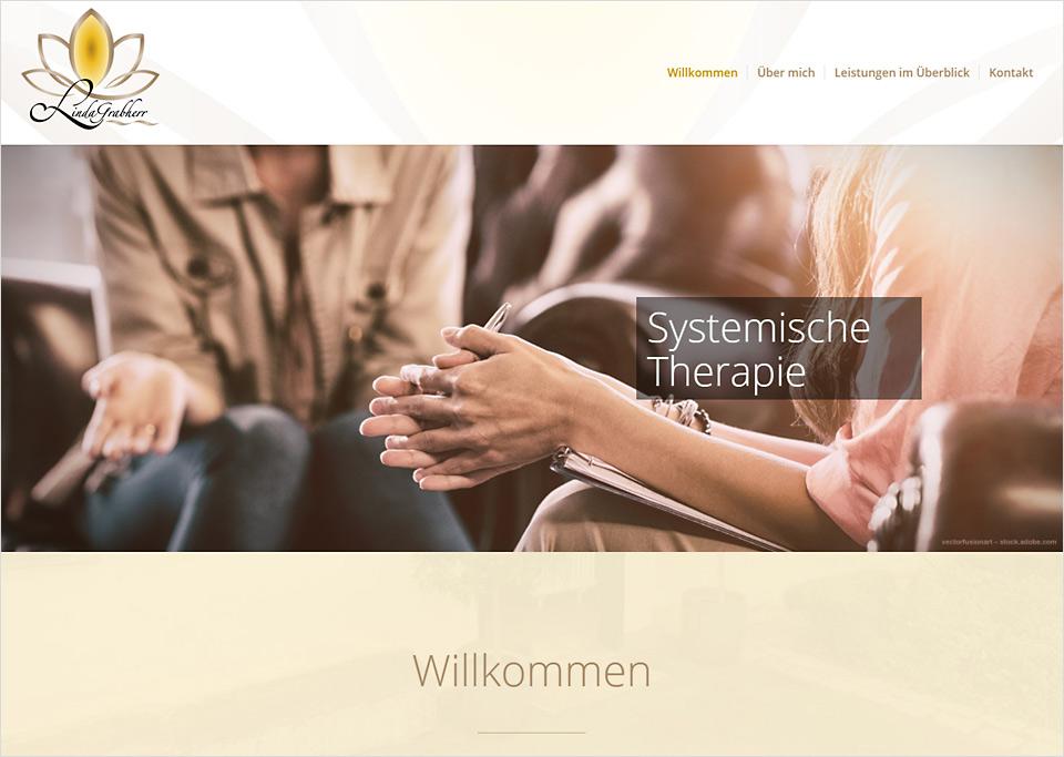 Homepage-Erstellung für Linda Grabherr, 90427 Nürnberg
