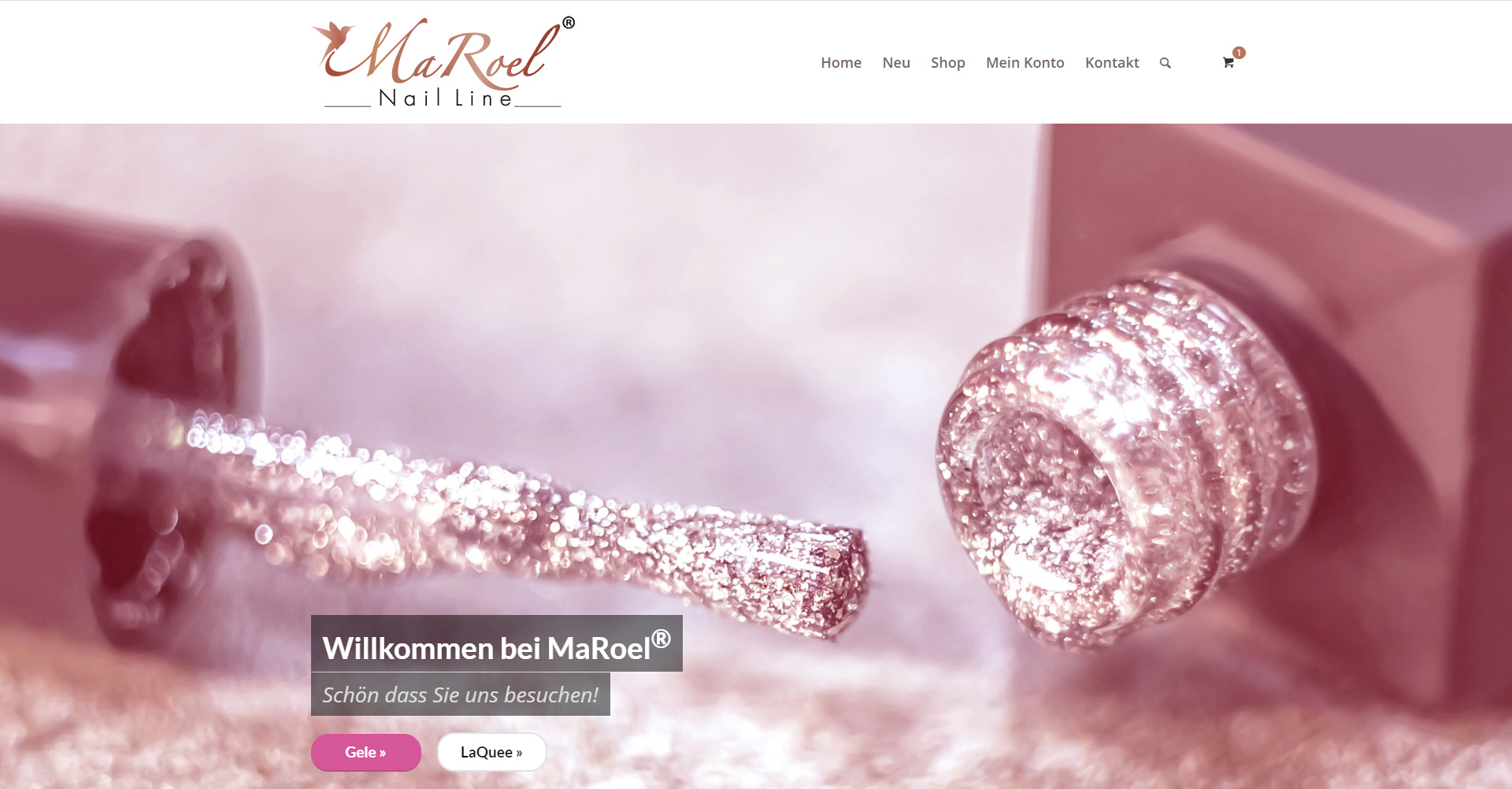 Online-Shop für MaRoel® Nail Line, 90427 Nürnberg