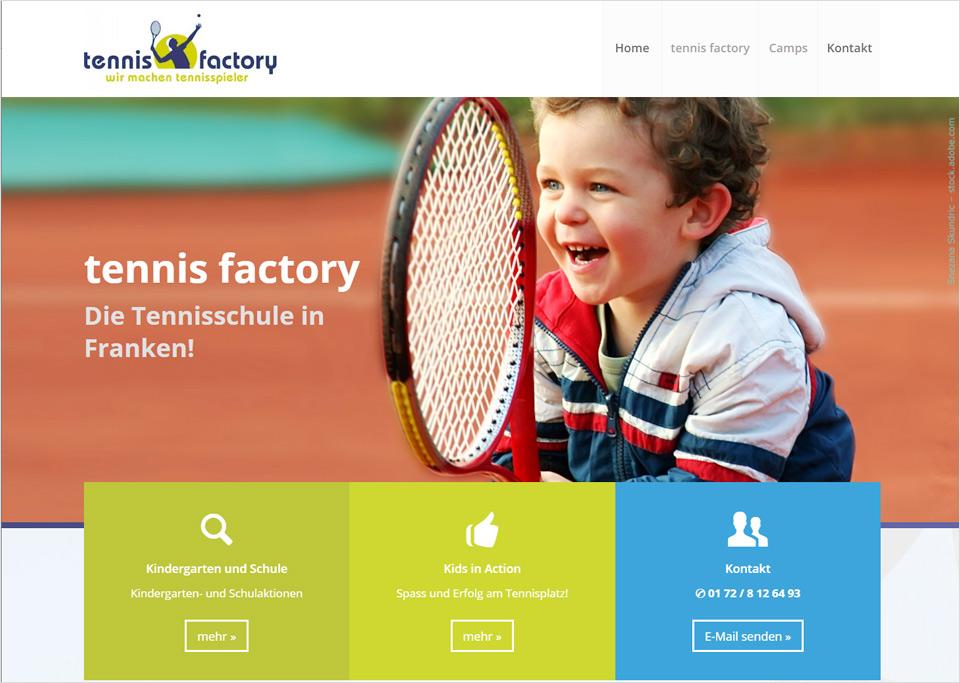 Homepage-Erstellung für Tennis Connection, 90482 Nürnberg